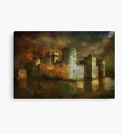Bodiam Castle.... Canvas Print