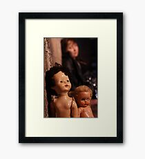 Childhood Nightmares....! Framed Print