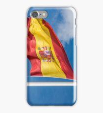 Spanish Flag in the Sun iPhone Case/Skin