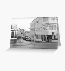 Akureyri Streetscape Greeting Card