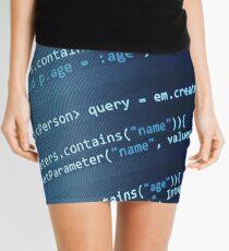 Programming Code Mini Skirt
