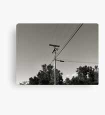Telephone Run Canvas Print