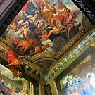 Hanbury Hall Staircase Murals and Ceiling by John Dalkin