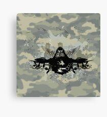 War Pilot Canvas Print