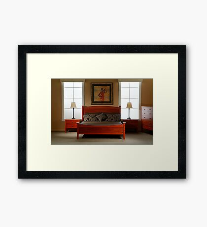 Furniture Shoot Framed Print