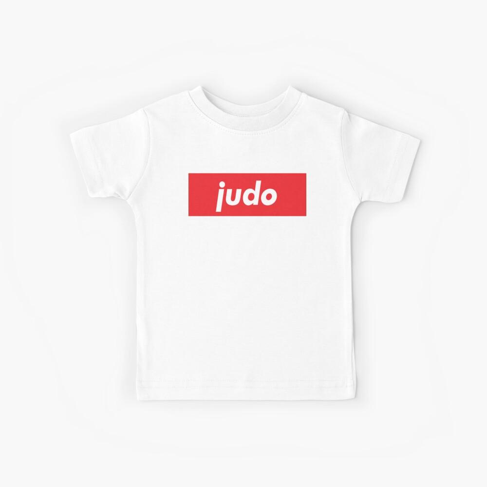 Judo Moderne Kampfkunst Kinder T-Shirt