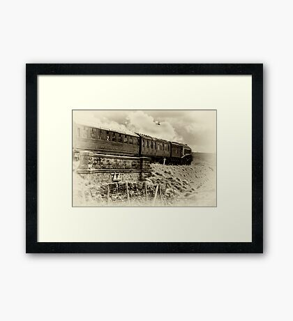 Restaurant Car Framed Print