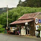 Wood's Point Service Station by Joe Mortelliti
