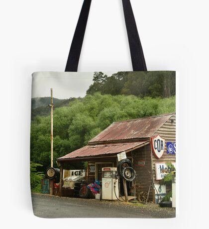 Wood's Point Service Station Tote Bag