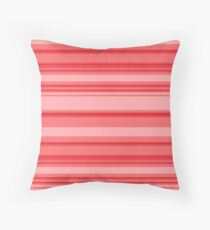 Red Stripes Floor Pillow