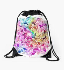 Regenbogen-Aquarell-Paisley-Blume Turnbeutel