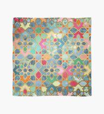 Gilt & Glory - Buntes marokkanisches Mosaik Tuch