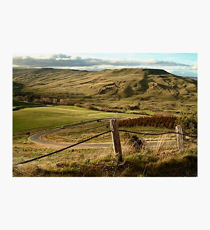 Valley Road Rowsley Photographic Print