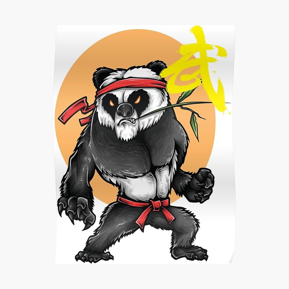 Kung Fu Chinesische Kampfkünste Wushu Quanfa Poster