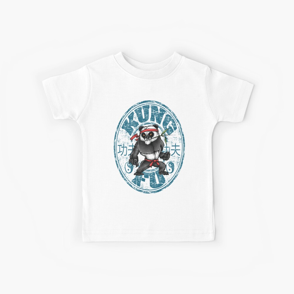 Kung Fu Chinesische Kampfkünste Wushu Quanfa Kinder T-Shirt