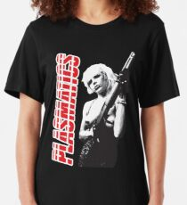 Plasmatics Wendy O Williams Slim Fit T-Shirt