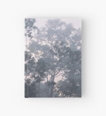 The mysteries of the morning mist Hardcover Journal