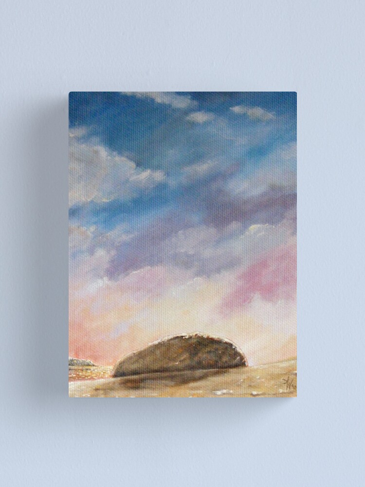 Alternate view of Beached Rock Canvas Print