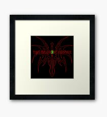 The Shadow Empire Hangrius Red Framed Print