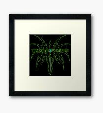 The Shadow Empire Zarakar Green Framed Print