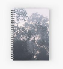 The mysteries of the morning mist Spiral Notebook