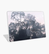 The mysteries of the morning mist Laptop Skin