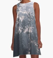 The mysteries of the morning mist A-Line Dress