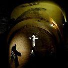 Inside Rotonda di San Lorenzo, Mantua, Italy by Indrani Ghose