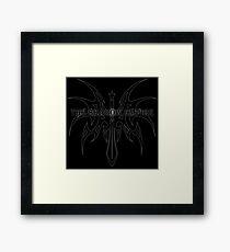 The Shadow Empire Angrelian Black Framed Print