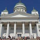 Helsinki Town Hall- Finland by mikequigley