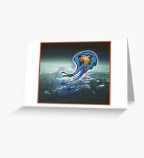 5D Creature Greeting Card