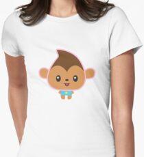 Munkey! Womens Fitted T-Shirt