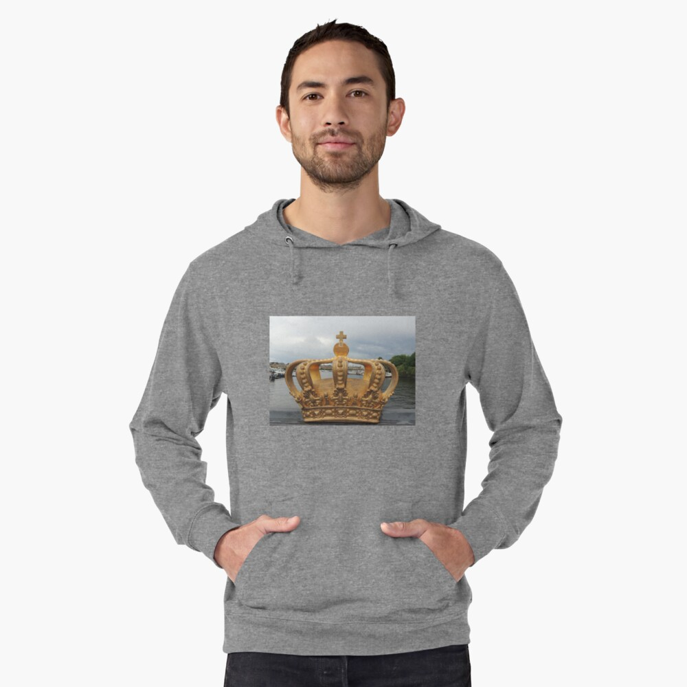 Crowning Glory  - Stockholm Harbour - Sweden Lightweight Hoodie Front