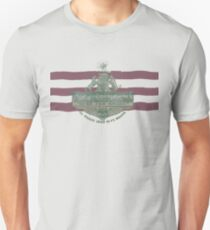 1912 Fort Worth Flag - The Panther City - We're For Smoke - All Roads Lead to Ft. Worth Slim Fit T-Shirt