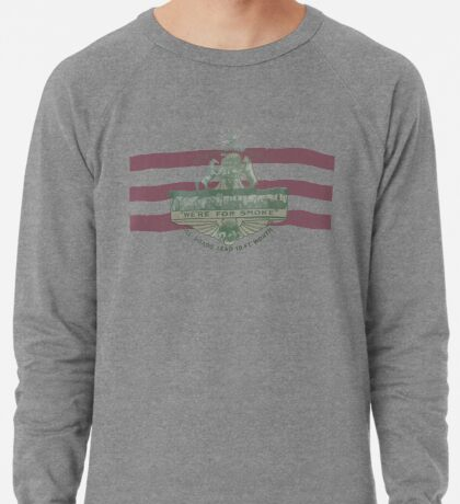 1912 Fort Worth Flag - The Panther City - We're For Smoke - All Roads Lead to Ft. Worth Lightweight Sweatshirt