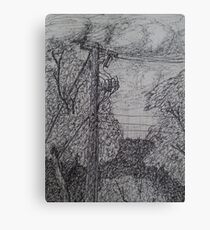 Live Wire Canvas Print