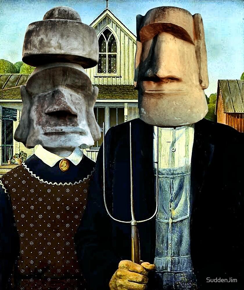 Easter Island Gothic by SuddenJim