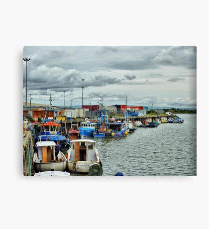 Jubilee Quay  Canvas Print