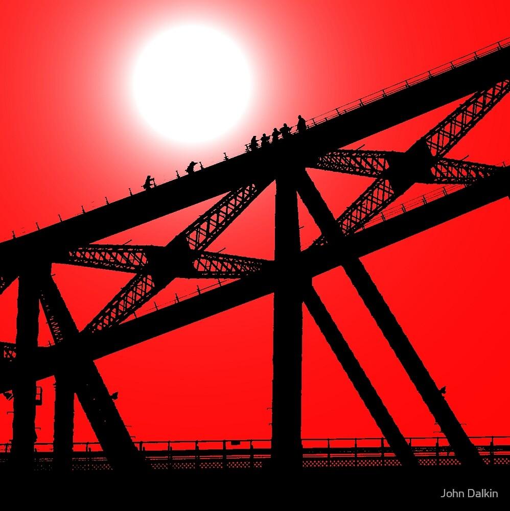 Climbing the Sydney Harbour Bridge by John Dalkin