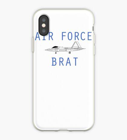 F-22 Air Force Brat iPhone Case