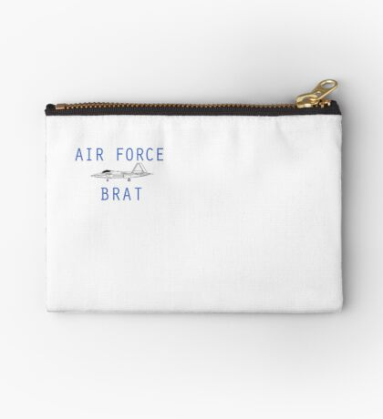 F-22 Air Force Brat Zipper Pouch