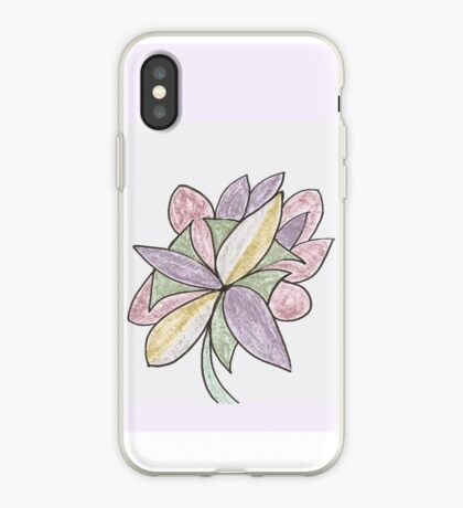 Carnivaled Flowers (a Bouquet of Pastel Colours) iPhone Case