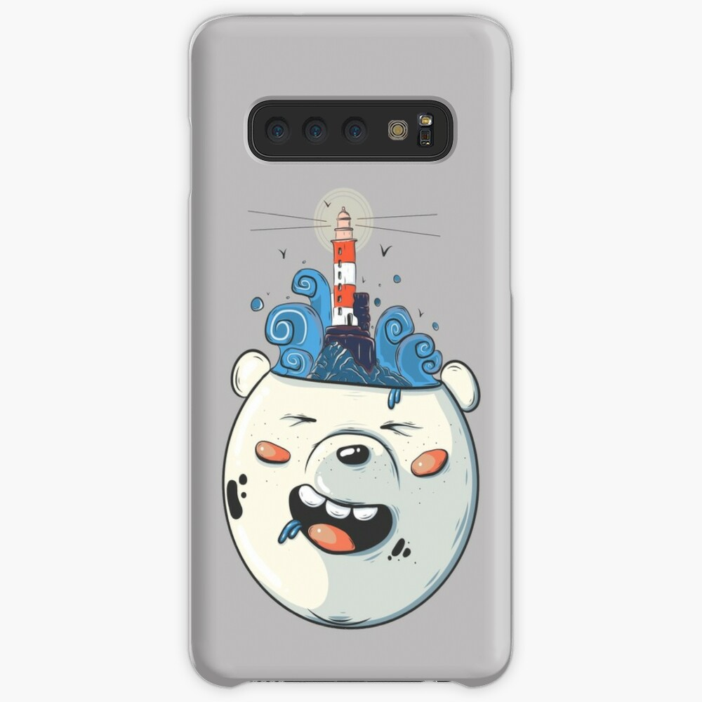 Ice Bear Get Idea. We Bare Bears fan art. Case & Skin for Samsung Galaxy