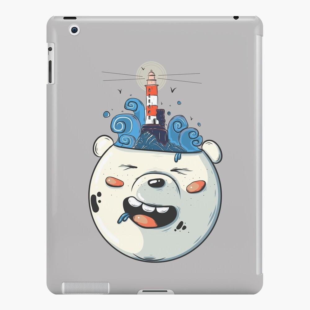 Ice Bear Get Idea. We Bare Bears fan art. iPad Case & Skin