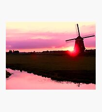 SUN AND WIND Photographic Print