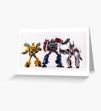 Autobots Greeting Card