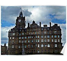 Balmoral Hotel, Edinburgh Scotland. Poster