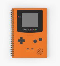 Game Boy Orange Spiral Notebook