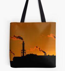Rust Belt Sunrise - Cleveland Smelting Plant Tote Bag