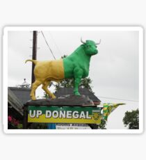 Up Donegal For GAA Finals - Burnfoot County Donegal Ireland . Sticker
